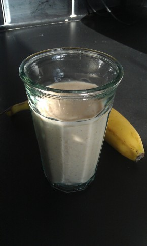 Peanut Butter & Banana Smoothie